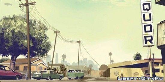 Сельская местность GTA 5