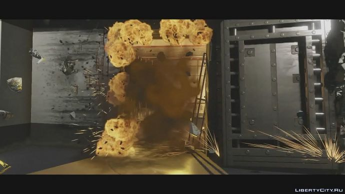 Скриншот из второго трейлера GTA 5