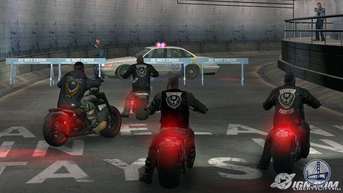 Копы перекрыли дорогу