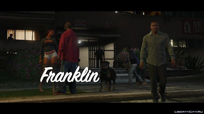 Скриншот из трейлера о Франклине