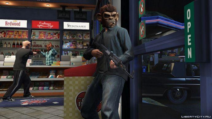 Ограбление в GTA Online