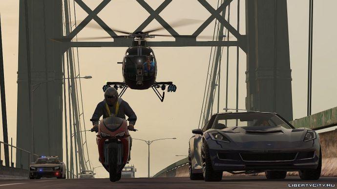 Погоня в GTA Online