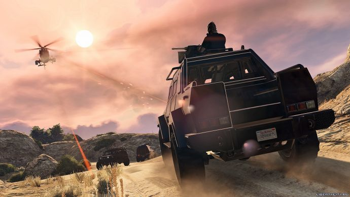 Ограбления в GTA Online