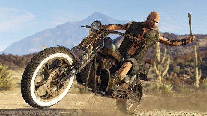 Скриншоты GTA Online: Bikers