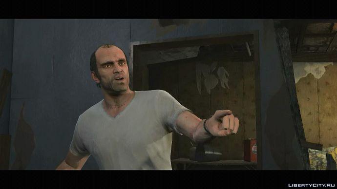 Скриншот из официального трейлера GTA 5