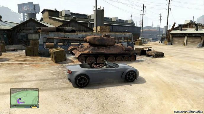 Т-34 на свалке