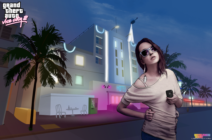 Арт на тему GTA Vice City 2