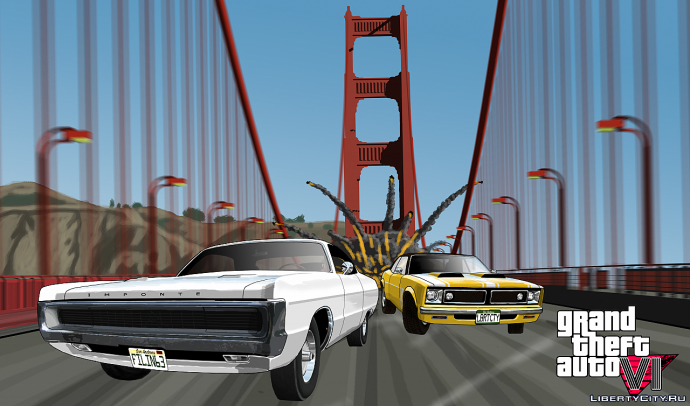 GTA VI Race and Chase