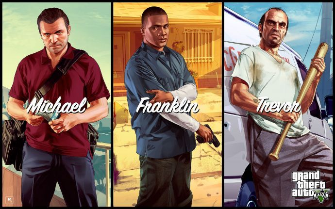 Michael. Franklin. Trevor.
