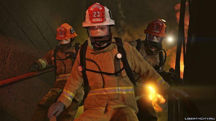 Пожарные в GTA 5