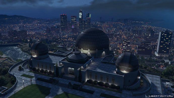 Обсерватория в GTA 5