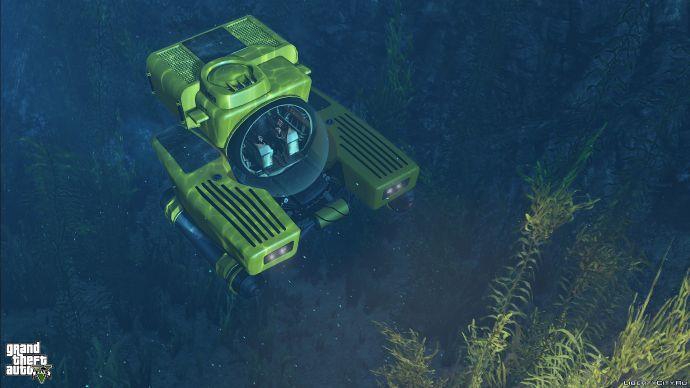 Подлодка Kraken Sub в GTA 5