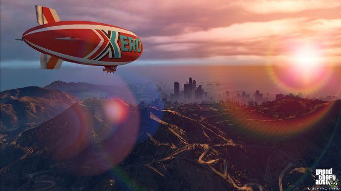 Дирижабль Xero Blimp в GTA 5