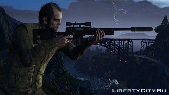 Тревор с винтовкой