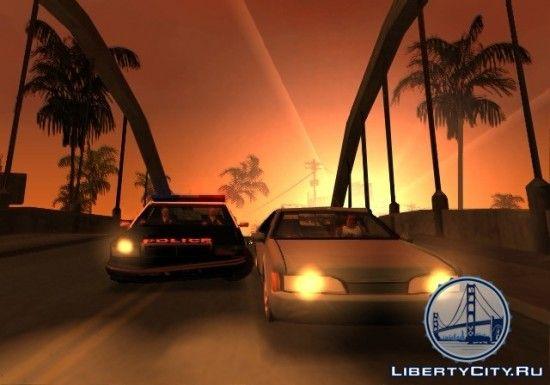 Полиция в GTA SA