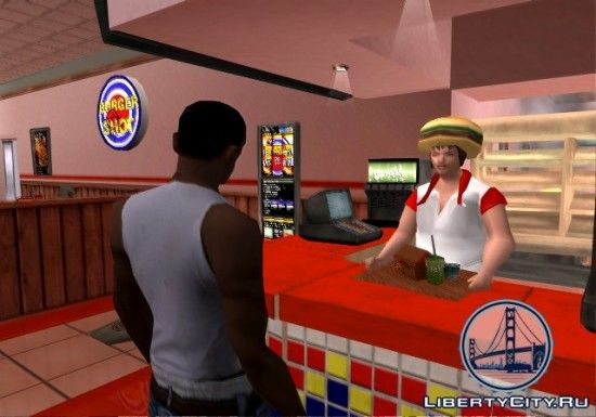 Еда в GTA San Andreas