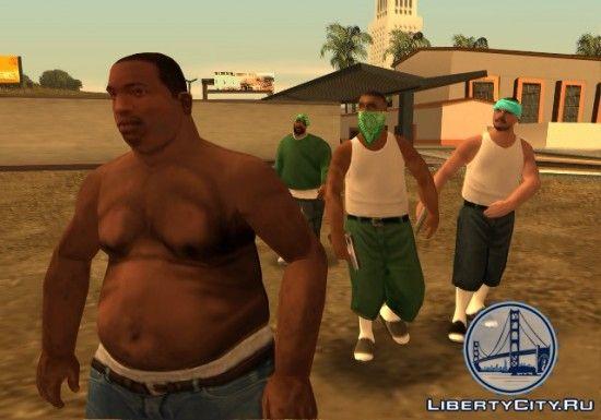 Банды в GTA SA