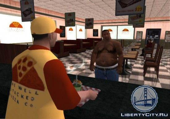 Ожирение в GTA San Andreas