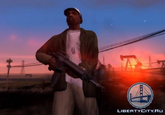Оружие в GTA SA