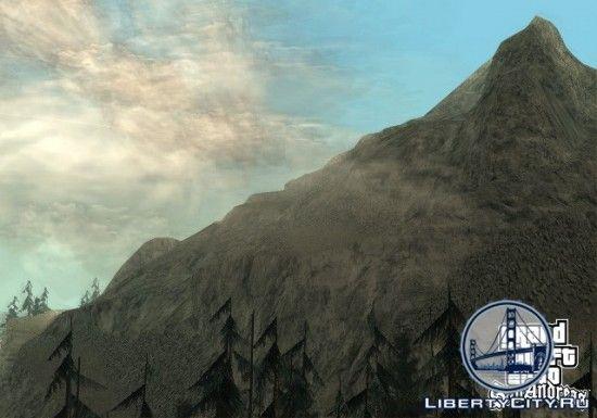Гора в GTA San Andreas