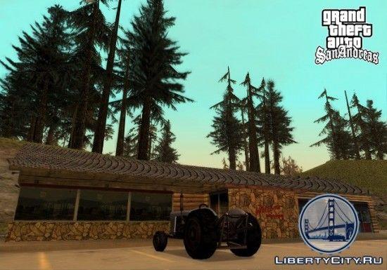 Трактор в GTA SA