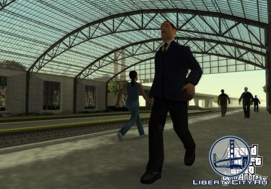 Вокзал в GTA SA