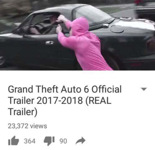 Трейлер GTA VI