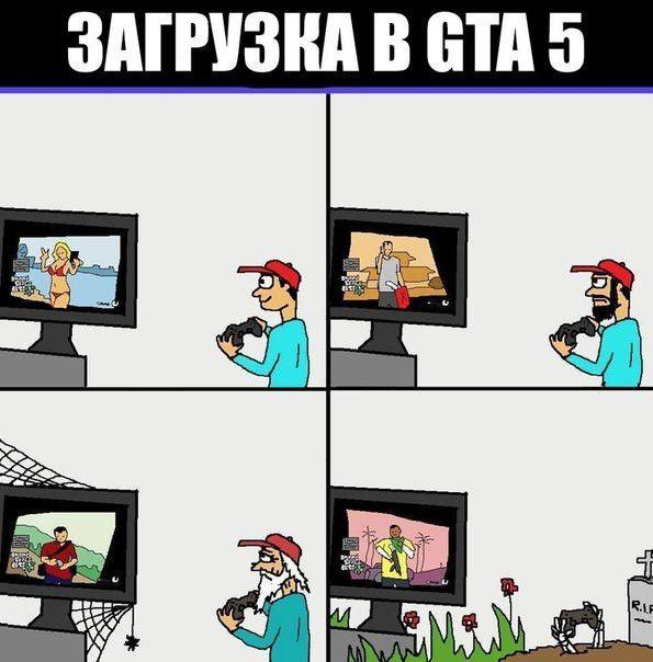 Загрузка GTA V
