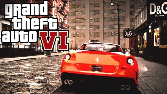 Скриншоты GTA 6 (fake)