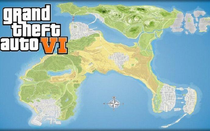 Карта GTA VI