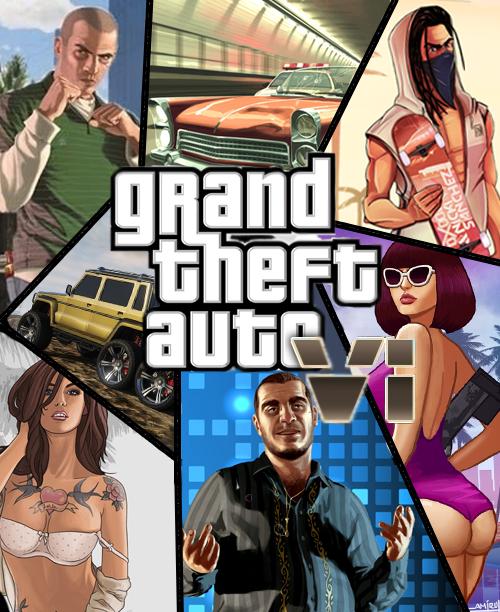 Арт GTA 6 (fake)
