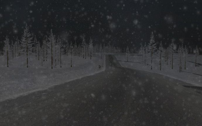 Новогодние скриншоты GTA San Andreas