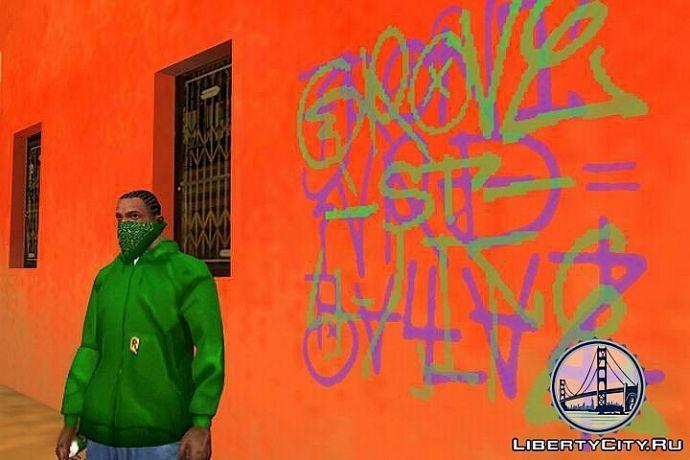 Граффити в GTA SA