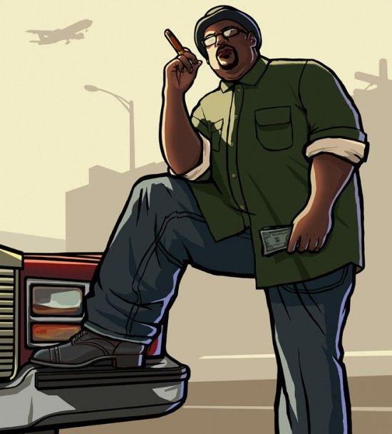 Смоук из GTA SA