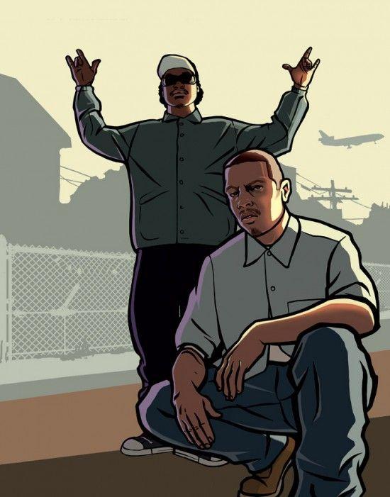 Арт GTA San Andreas