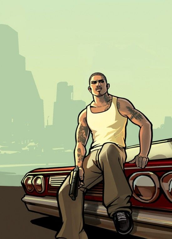 Арт из GTA San Andreas
