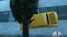 Машина на стенке!