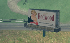 Redwood advert
