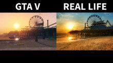 GTA V vs Real Life