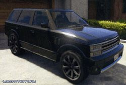 Внедорожник Gallivanter Baller из GTA 5