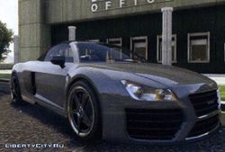 Спортивная машина Obey 9F Cabrio из GTA 5