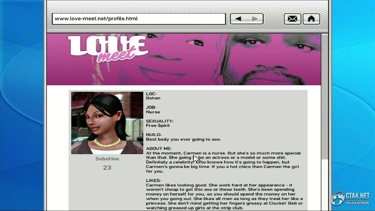 Гта 4 можно как познакомится по интернету секс онлайн сайты знакомств