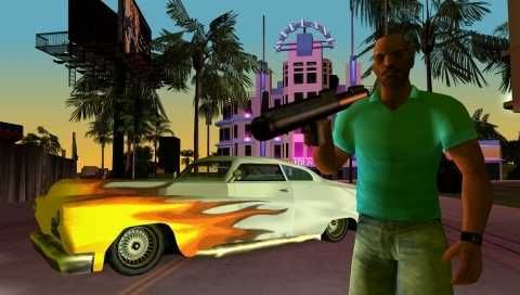 Оружие в GTA Vice City Stories