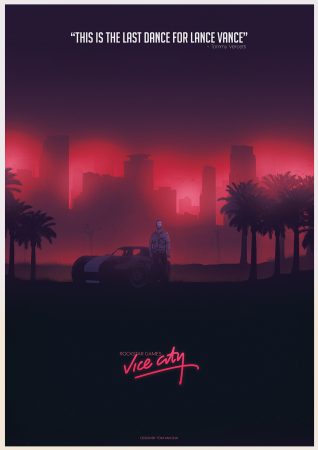 Отличные постеры GTA Vice City, GTA San Andreas, GTA 4 и GTA 5