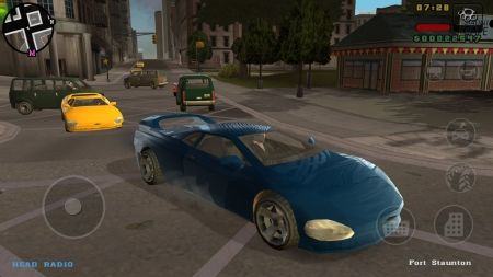 GTA LibertyCity Stories вышла на Android
