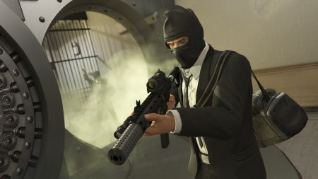 Как грабить людей в GTA Online?