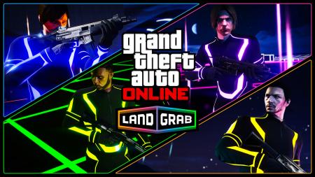 "Новый режим противоборства в GTA Online - ""Захват территорий"""