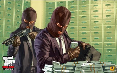 Как грабить банки в GTA Online?