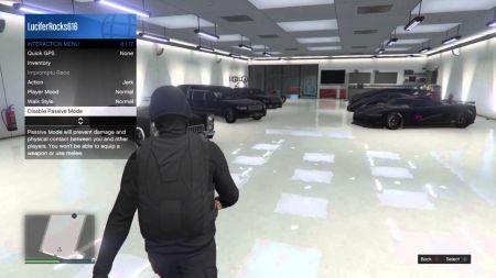 Как включить и отключить пассивный режим в GTA Online?