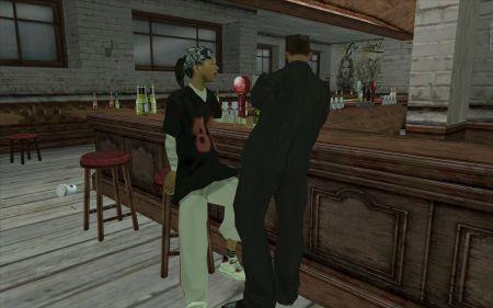 Как в GTA San Andreas целоваться?